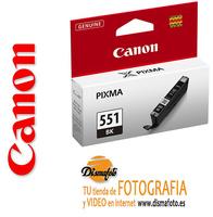 CANON CART.TINTA CLI-551BK  NEGRO XL