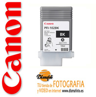 CANON CART.TINTA PFI-102 NEGRO 130ML