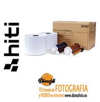 HITI PAPEL +CINTA 13X18 P/750 (1200F)