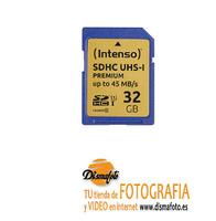 INTENSO TARJETA SDHC 32GB UHS-I PREMIUM