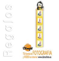 M. PORTAFOTO MEDIDOR TEXTIL PINGUINO(5) 10X15 CM