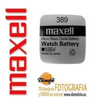 MAXELL PILAS SR 389 (1130) + ECO